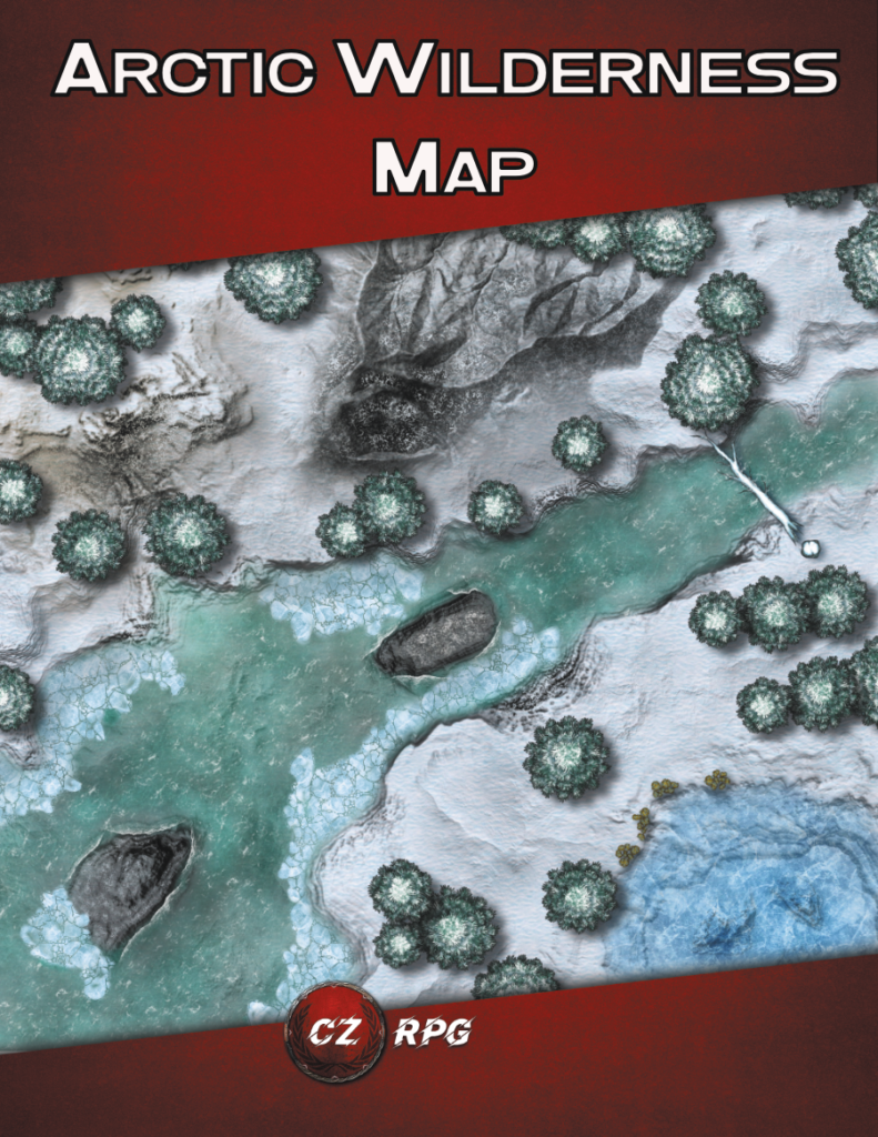 Arctic Wilderness Map Cover
