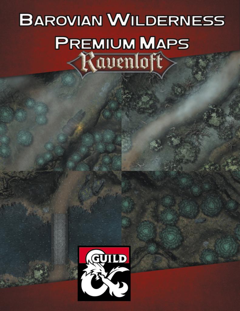 Barovian Wilderness Premium Maps Cover