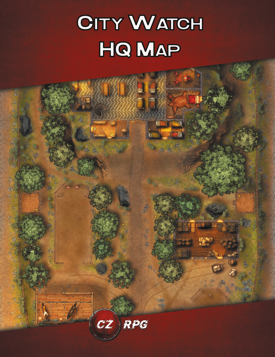 City Watch HQ Map Cover