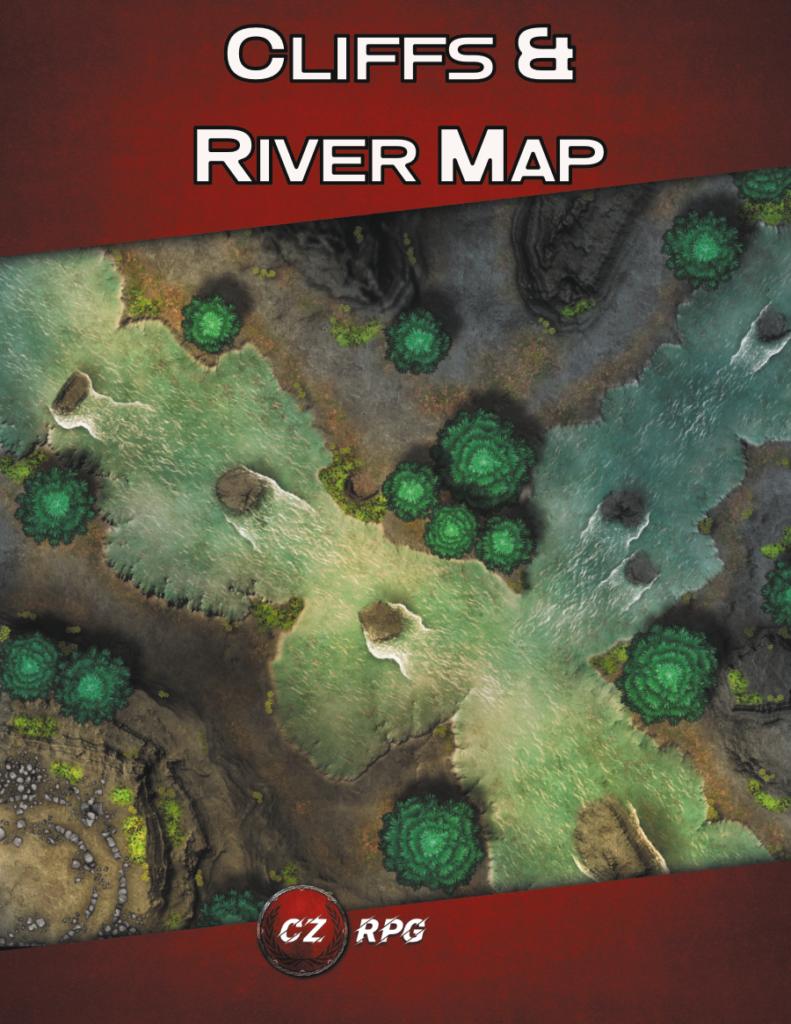 Cliffs & River Map Cover