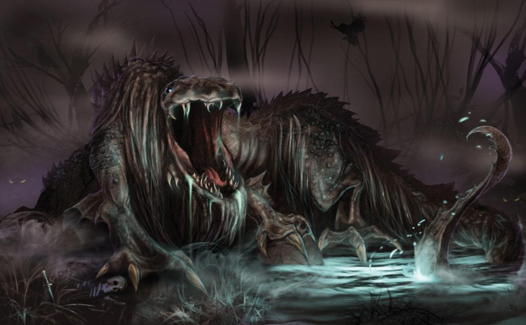 Creature #2 (swamp beast)