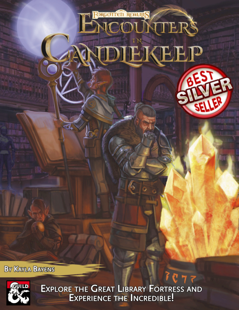 Encounters in Candlekeep Cover