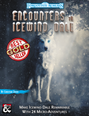 Encounters in Icewind Dale Cover Cover