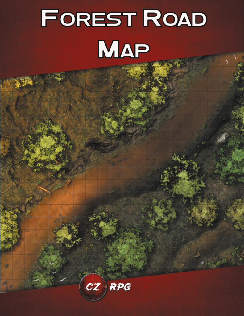 Forest Road Map Cover