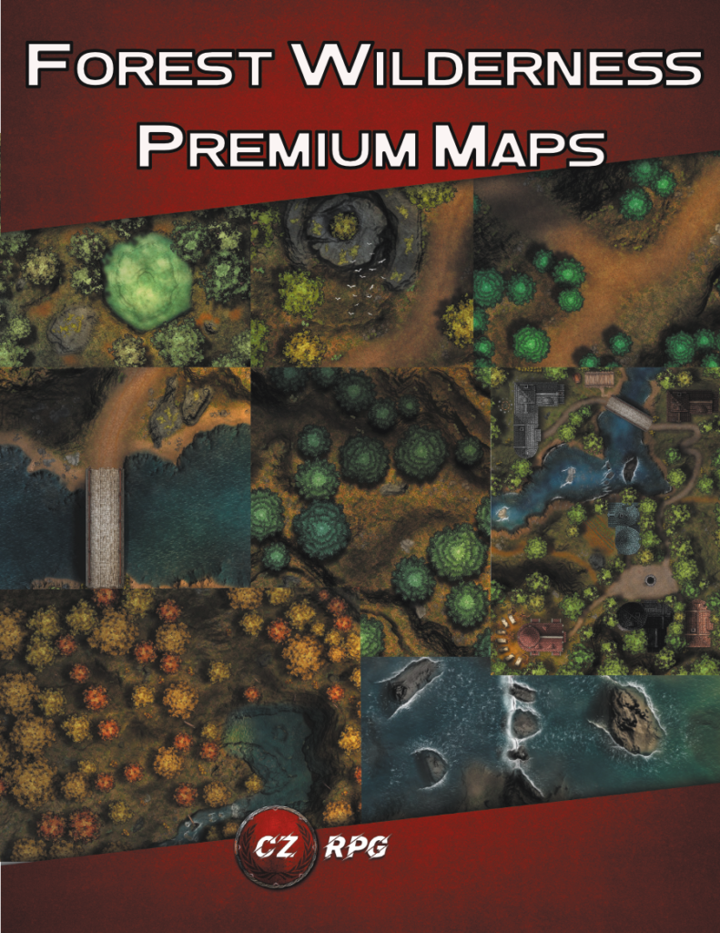 Forest Wilderness Premium Maps Cover