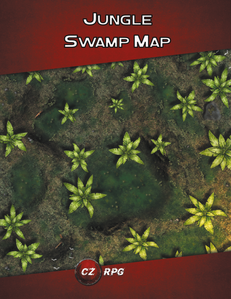 Jungle Swamp Map Cover