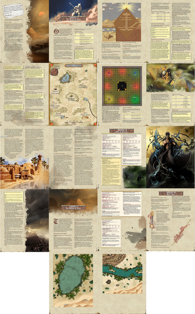 Layout Previews - Dunes