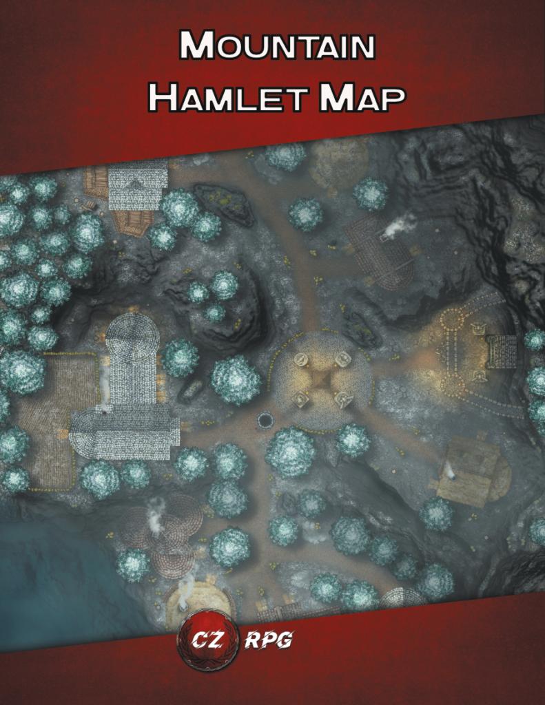 Mountain Hamlet Map Cover