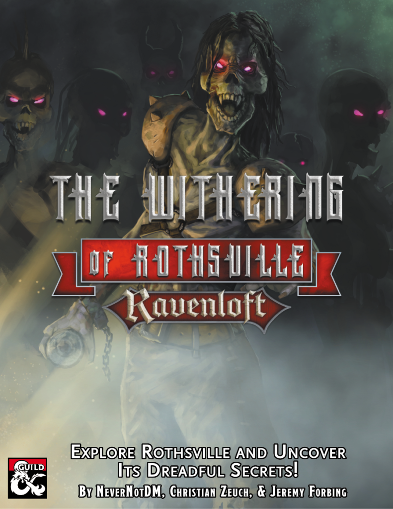 The Withering of Rothsville Cover