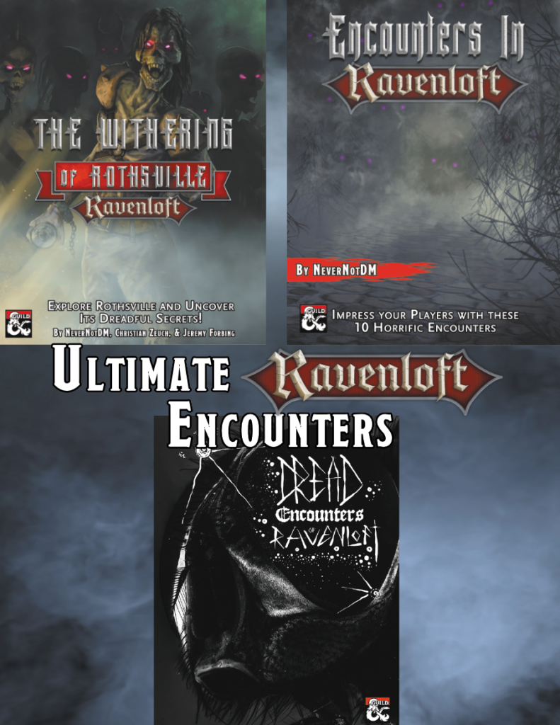 Ultimate Ravenloft Encounters Cover