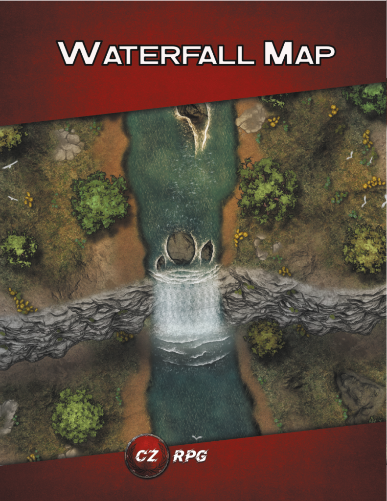 Waterfall Map Cover
