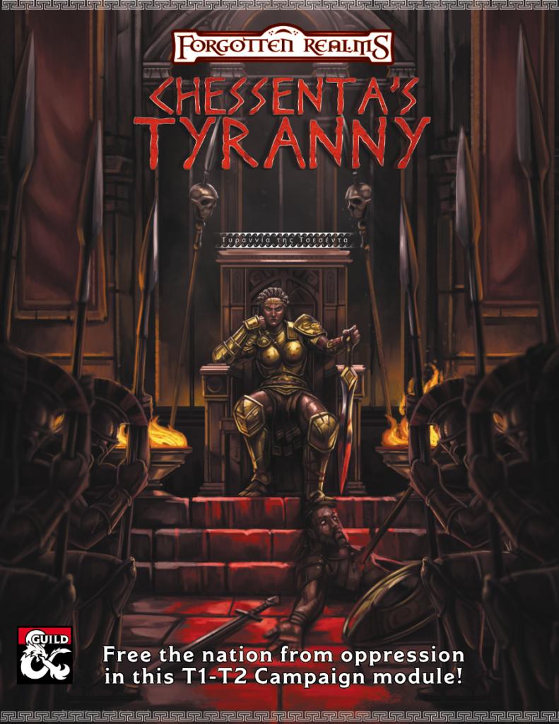 Chessenta's Tyranny Cover