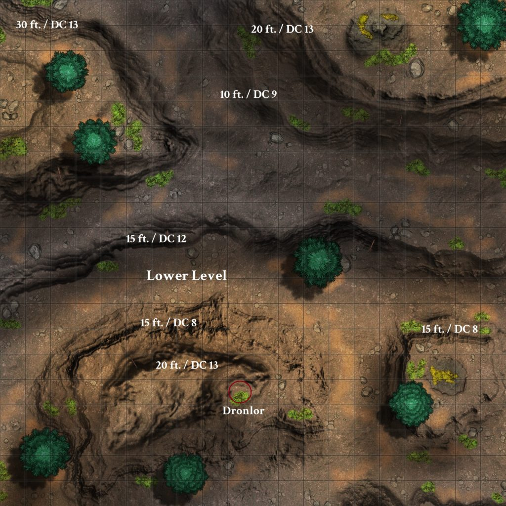 Mountain Cliffs - DM Version [20x20 sq - Res 4096x4096]