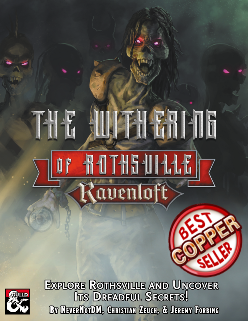 The Withering of Rothsville Cover Metal
