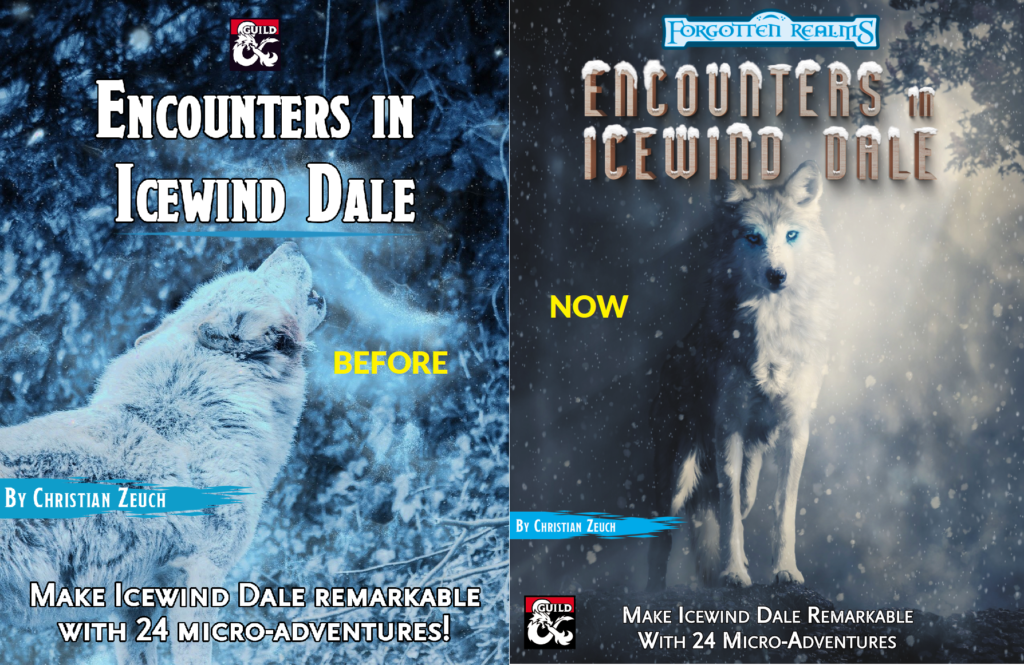 Encounters in Icewind Dale covers