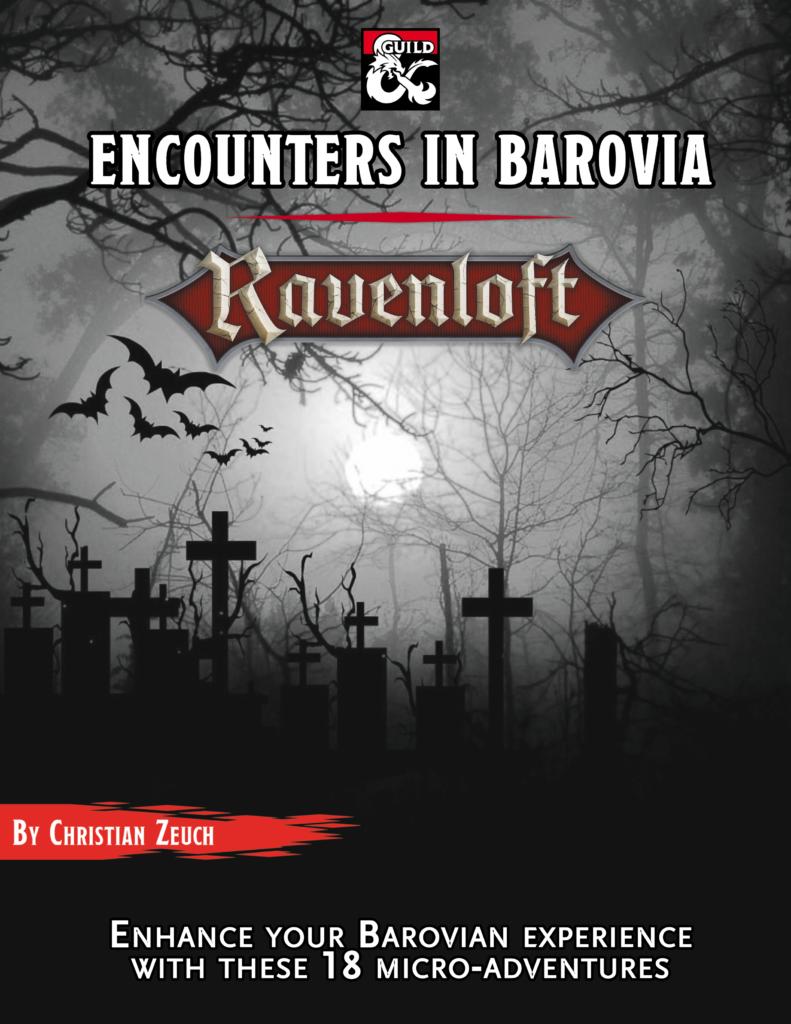 Encounters in Barovia Cover