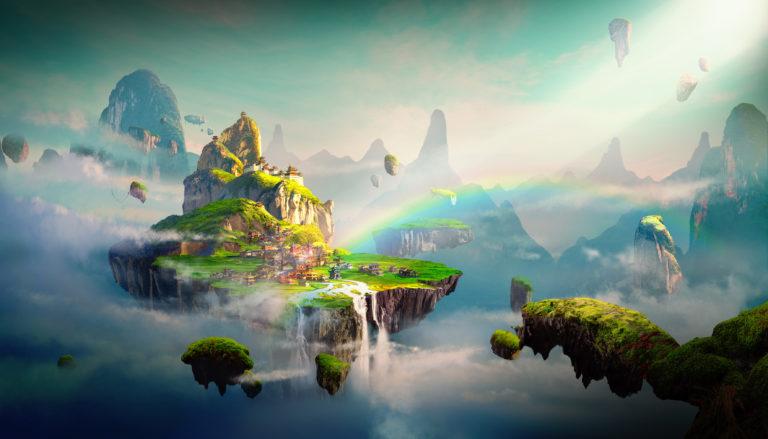 The Sky Isles Art