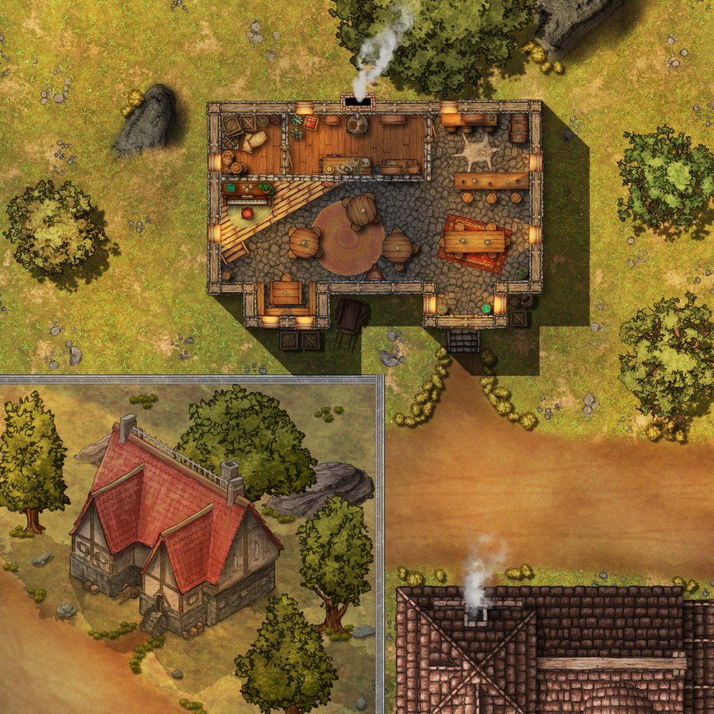 September - Tavern - Gridless [20x20 dq - REs 4096x4096]
